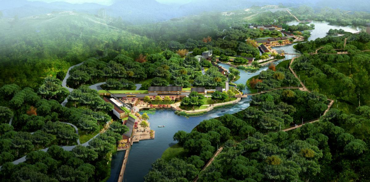 市江阳区张坝桂圆林公园商业配套服务,推动张坝桂圆林公园旅游发展,现